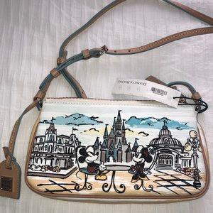 NWT Disney Dooney Minnie & Mickey Cross-Ham